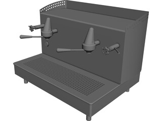 Espresso Machine CAD 3D Model
