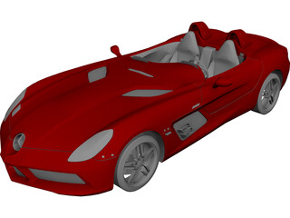 Mercedes-Benz SLR Stirling Moss 3D Model