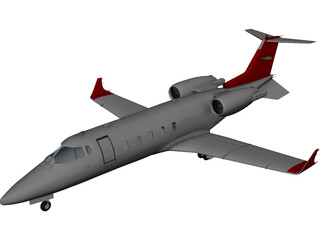 Bombardier Learjet 3D Model
