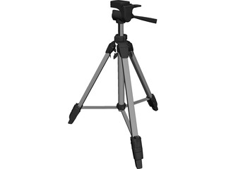 Tripod Light Camera 3D Model