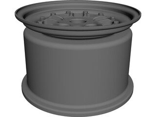 Keizer CL-10 Formula SAE Wheel CAD 3D Model