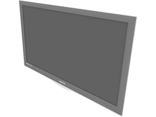 TV Samsung LCD 3D Model