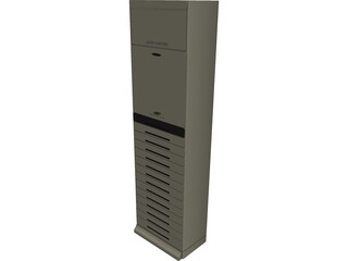 Samsung Powerful 7100 Aircon 3D Model