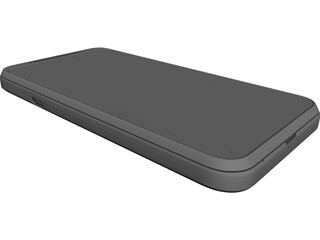 HTC EVO 3D Smartphone 3D Model