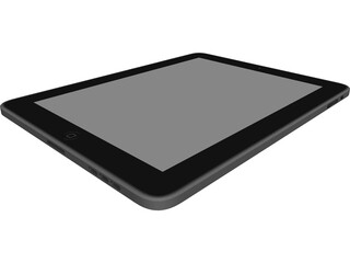Apple iPad CAD 3D Model