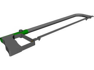 Hack Saw CAD 3D Model