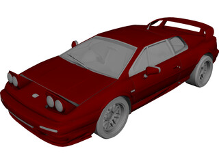 Lotus Esprit 3D Model