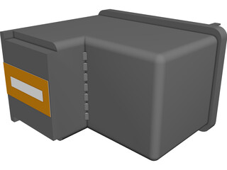 Cartridge CAD 3D Model