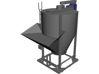 Mixer CAD 3D Model