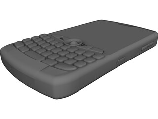Blackberry Curve 8350i 3D Model