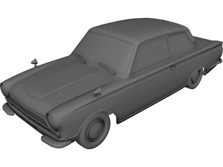 Ford Lotus Cortina (1966) 3D Model