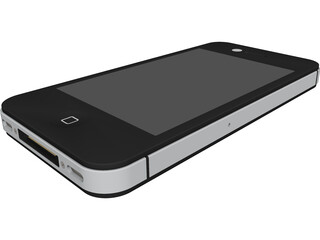 Apple iPhone 4 CAD 3D Model