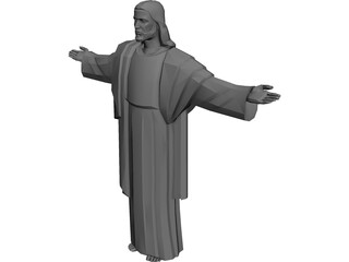 Christ the Redemer 3D Model 3D Preview