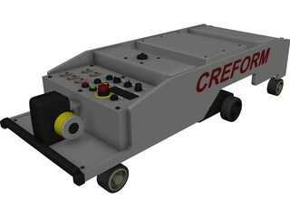 Automatic Guided Vehicle CREFORM 3D Model 3D Preview