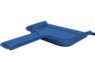 Dust Pan CAD 3D Model