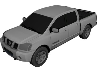 Nissan Titan (2004) 3D Model 3D Preview