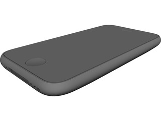Apple iPhone 3GS CAD 3D Model