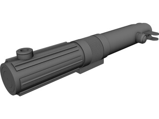 Star Wars Anakin Lightsaber 3D Model