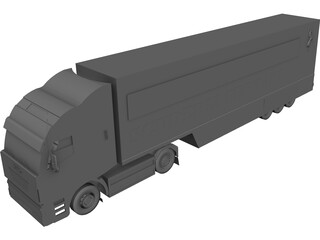 Iveco Stralis 3D Model
