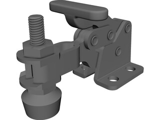 Toggle Clamp CAD 3D Model