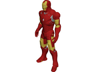 Iron Man Armor 3D Model