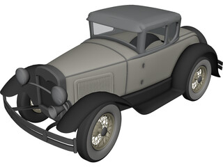 Ford A 3D Model