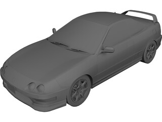 Honda Integra Type R 3D Model