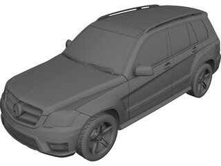Mercedes-Benz GLK 220 CDI 4MATIC BlueEFFICIENCY 3D Model