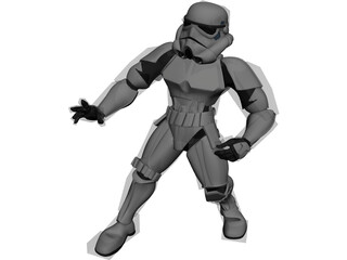 Star Wars Stormtrooper 3D Model