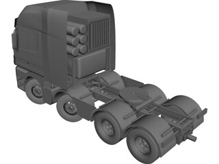 Mercedes-Benz Titan Truck CAD 3D Model