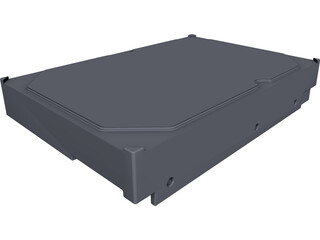 Seagate HDD CAD 3D Model