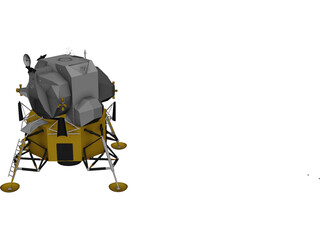 Apollo Lunar Module 3D Model