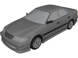 Toyota Mark II (X100) 3D Model