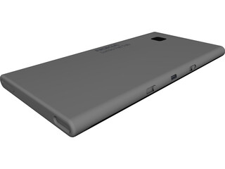Nokia Lumia 960 CAD 3D Model
