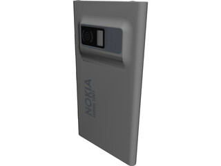 Nokia Lumia 1001 CAD 3D Model