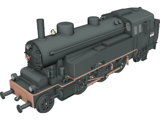 CC201 Locomotive 3D Model
