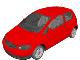 Volkswagen Fox 3-Door (2003) 3D Model