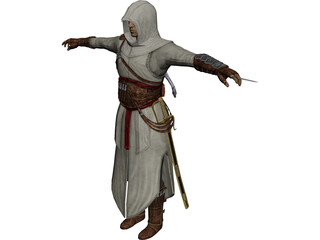 Assassin Creed Altair 3D Model