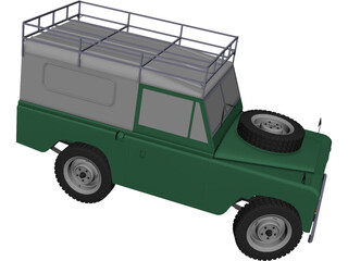 Land Rover CAD 3D Model