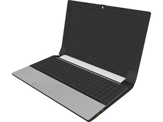 Asus Laptop CAD 3D Model
