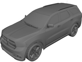 Dodge Durango (2011) 3D Model 3D Preview