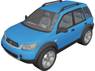 Toyota Rush 3D Model