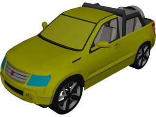 Suzuki Grand Vitara Convertible 3D Model