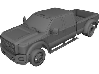 Ford F-550 Super Duty 3D Model