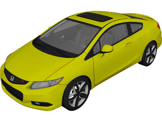 Honda Civic (2012) 3D Model