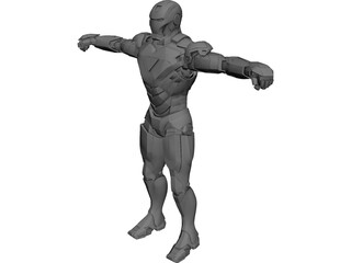 Ironman Mark 6 3D Model