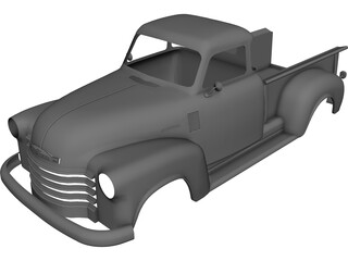 Chevrolet Pickup Body 3D Model