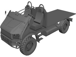 Bremach T-Rex 3D Model