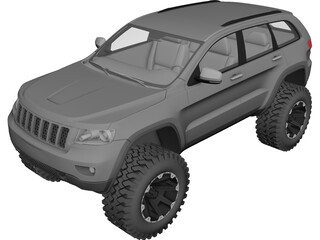 Jeep Grand Cherokee Off-Road Edition (2012) 3D Model