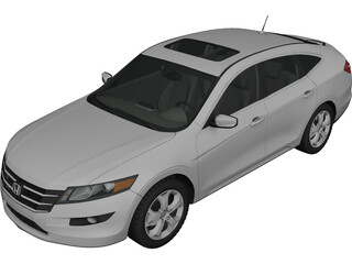 Honda Accord Crosstour (2010) 3D Model